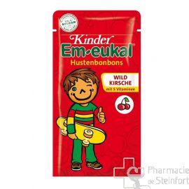 EM EUKAL KINDER HUSTENBONBON WILDKIRSCHE Zuckerfrei75 G