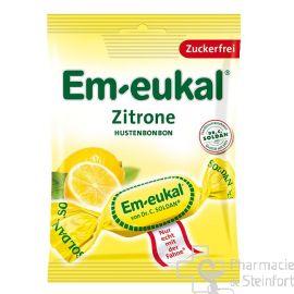 EM EUKAL HUSTENBONBON Zuckerfrei ZITRONE ZF 75 G