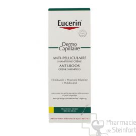 EUCERIN SHAMPOOING CREME ANTIPELLICULAIRE PELLICULES SECHES 250ML 69655