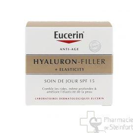 EUCERIN HYALURON FILLER ELASTICITY SOIN JOUR SPF 15  50ML