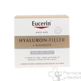 EUCERIN HYALURON FILLER ELASTICITY SOIN NUIT 50ML
