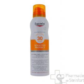 EUCERIN SUN SENSITIVE PROTECT SPRAY AEROSOL BRUME SPF 30 200ML
