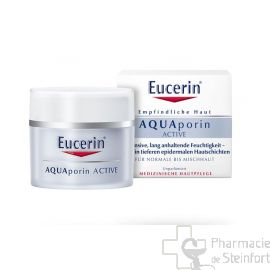 EUCERIN AQUAPORIN ACTIVE SOIN HYDRATANT PEAU NORMALE A MIXTE 50ML