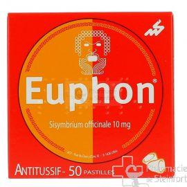 EUPHON ANTITUSSIF 50 PASTILLES