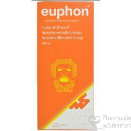 EUPHON SIROP toux 200 ML