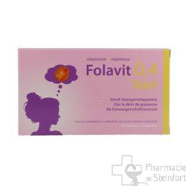 FOLAVIT 0,4 MG START Désir de grossesse 90 Comprimés