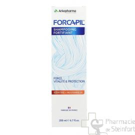 FORCAPIL SHAMPOING FORTIFIANT KERATINE 200ML