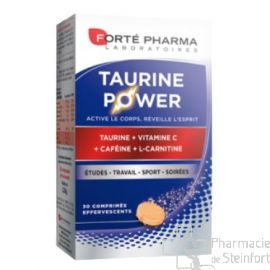 ENERGIE TAURINE POWER 30 COMPRIMES EFFERVESCENTS