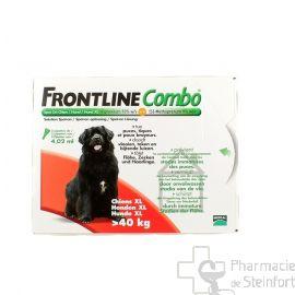 FRONTLINE COMBO SPOT-ON CHIEN XL DE +40KG  3PIPETTES