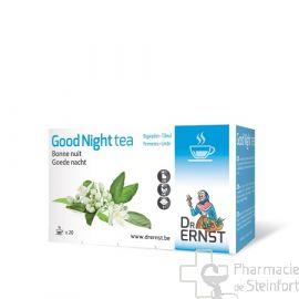 DR ERNST GOOD NIGHT BONNE NUIT SOMMEIL TEA 20 INFUSIONS
