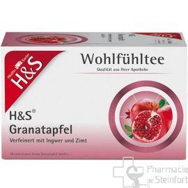 H+S Granatapfel GRENADE THE 20 SACHETS N°63