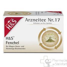 H+S Fenchel FENOUIL 20 SACHETS N°17