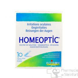 HOMEOPTIC COLLYRE 10 Uni Doses 0,4 ML