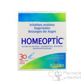 HOMEOPTIC COLLYRE 30 Uni Doses 0,4 ML