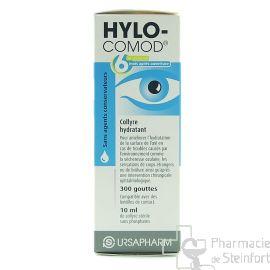 HYLO COMOD COLLYRE 10 ML