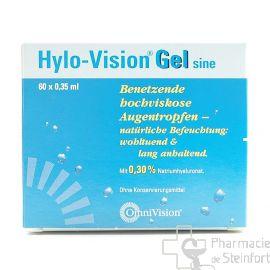 HYLO VISION GEL SINE 60 x 0,35 ML