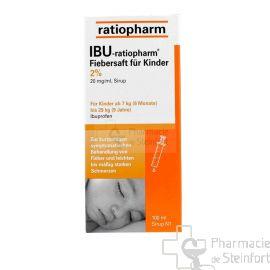 IBU RATIOPHARM 2% SIROP 100 ML