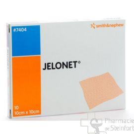 JELONET 10x10 CM 10 COMPRESSES PARAFFINEES