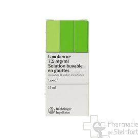 LAXOBERON 0,75% GOUTTES 15 ML