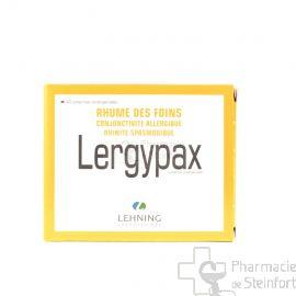 LERGYPAX LEHNING 2x 20 COMPRIMES