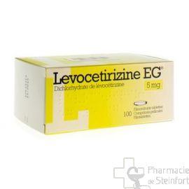 LEVOCETIRIZINE EG 5 MG 100 COMPRIMES