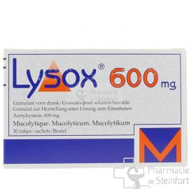 LYSOX 600 MG 30 SACHETS