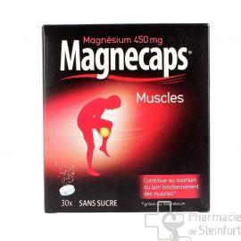 MAGNECAPS MUSCLES 30 COMPRMES EFFERVESCENTS