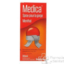 MEDICA MENTHOL GORGE SPRAY 30 ML