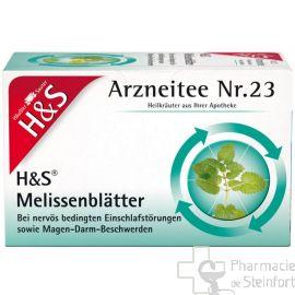 H+S Melissenblätter 20 SACHETS N°23