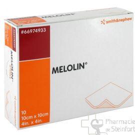 MELOLIN STERILE 10 x10 CM 10 COMPRESSES