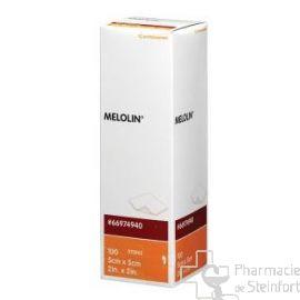 MELOLIN STERILE 5x5 CM 100 COMPRESSES