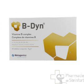 B DYN  Complexe de vitamines B 30 CAPSULES