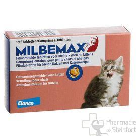 MILBEMAX PETIT CHAT -2kg 2 comprimes