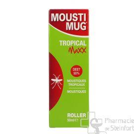 MOUSTIMUG TROPICAL MAXX 50 % DEET ROLLER 50 ML