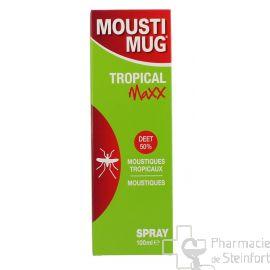 MOUSTIMUG TROPICAL MAXX 50 % DEET SPRAY 100 ML