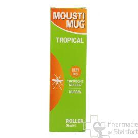 MOUSTIMUG TROPICAL 30 % DEET ROLLER 50 ML