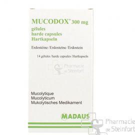 MUCODOX 300 MG 14 CAPSULES