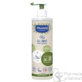MUSTELA BIO GEL LAVANT Corps cheveux 400 ML