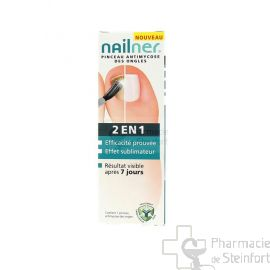 NAILNER BRUSH 2-IN-1 POUR ONGLES ANTI MYCOSES 5 ML