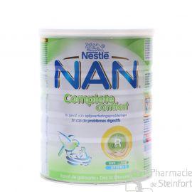 NESTLE BEBA NAN COMPLETE COMFORT 800 G