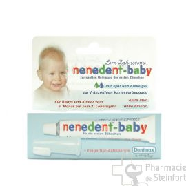 NENEDENT BABY AVEC DENTIFRICE 20 ML  ET BROSSE A DENTS SILICONE