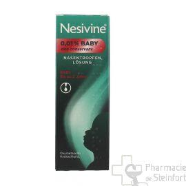 NESIVINE NASIVIN 0,01 baby sine conservans solution nasale 5 ML