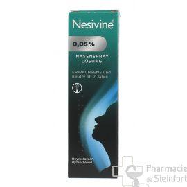 NESIVINE Nasivin 0,05% spray adulte 1 Flacon10 ML