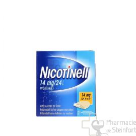 NICOTINELL 14 MG/24 H 21 PATCH