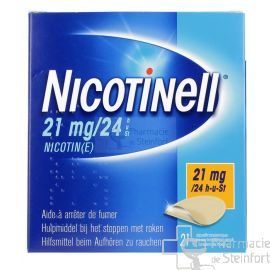NICOTINELL 21 MG/24 H 21 PATCH