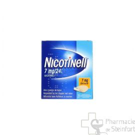 NICOTINELL 7 MG/24 H 21 PATCH
