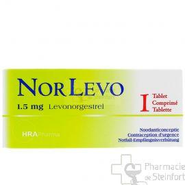 NORLEVO 1,5 MG 1 COMPRIME