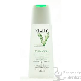 VICHY NORMADERM SOLUTION MICELLAIRE 3 EN 1   200ML