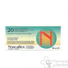 NOSCAFLEX 15 MG 20 COMPRIMES