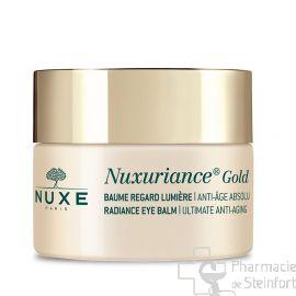 NUXE NUXURIANCE GOLD BAUME Regard Lumière 15ml